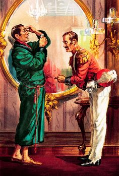 The Pickwick Papers by Charles Dickens ~ A case of mistaken identity: the innocent Mr. Winkle is challenged to a duel. Book Illustrations, Illustration Art, The Pickwick Papers, The Young Victoria, Hysterically Funny, History Images, Classic Literature, Genere, Reading Books