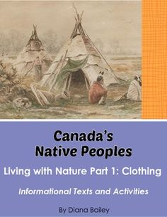 Canada's Native Peoples: Living With Nature – Bundle of 3 Items. This bundle includes three items listed in my store and available to purchase sepa. Teaching Social Studies, Teaching Resources, Teaching Ideas, Synonym Activities, How To Get Followers, Aboriginal People, Canadian History, Reading Passages, Upper Elementary