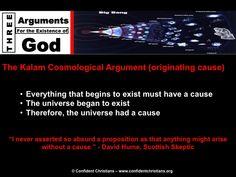 The Kalam Cosmological Argument of originating cause