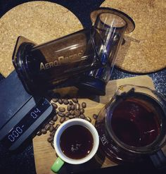 Make the change.. Dont to be follower.. Be your self.. .. .. #coffeelover#manualbrew#aeropress#acaia#lovelife#coffeshop#treeangelocoffee#hario#loveramics http://ift.tt/20b7VYo