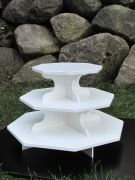 New!! Small Octagon Cupcake Stand