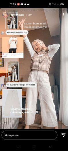 Modern Hijab Fashion, Hijab Fashion Inspiration, Muslim Fashion, Hijab Casual, Ootd Hijab, Kpop Fashion Outfits, Online Shopping Clothes, Videos, Womens Fashion