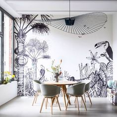 """Our client Juliane from Spaces&Places sent us that room she styled with The Wild in Berlin... We're fans!!! . #bienfaitparis #interior #spacesandplaces…"""