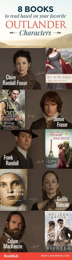 Outlander lover? Here are 8 book recommendations for fans of the hit tv show.