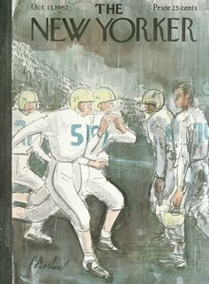 The New Yorker - Saturday, October 13, 1962 - Issue # 1965 - Vol. 38 - N° 34 - Cover by : Perry Barlow