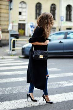 High Heeled Life    Cubus sweater ( similar here ) | Topshop 'jaime' jeans | Topshop belt | Michael Kors bag via Sarenza.pl | Celebrity shoes | Celine sunglassesFashion By Jestem Kasie