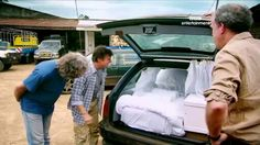 Don't miss season 19 of Top Gear. Wednesdays at BBC Entertainment Clarkson Hammond May, Jeremy Clarkson, Top Gear, Have A Laugh, Grand Tour, Hilarious, Funny, Super Cars, Movie Tv