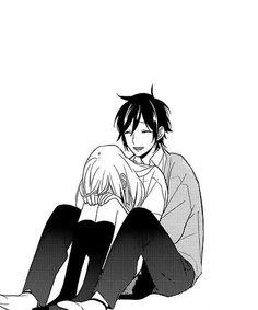 Resultado de imagen para horimiya manga miyamura and hori statures Couple Manga, Anime Love Couple, Anime Couples Manga, Cute Anime Couples, Anime Amor, Horimiya, Manga Cute, Manga Drawing, Otaku