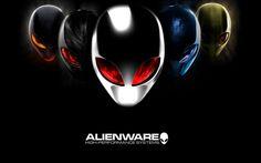 Alienware black wallpaper hd
