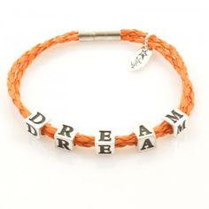 Bracelet DREAM, LETTERS collection, gold versionhttp://store.lovya.net/letters-from-your-heart-lovya/391-bransoletka-dream-z-kolekcji-letters-wersja-zlota.html