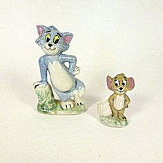 Tom & Jerry Wade Figurines, I still have mine Red Rose Tea, Vintage Packaging, Tom And Jerry, Collectible Figurines, Couples In Love, Forever Young, Prehistoric, Nice Things, Cool Drawings