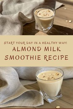 We all have cabin fever, and we're all eating too much junk food! Let's try to start our day with a healthy smoothie! Daniel Fast Breakfast, Fast Food Breakfast, Breakfast Ideas, Mint Smoothie, Smoothie Prep, Almond Milk Smoothie Recipes, Healthy Smoothies, Kid Drinks, Party Food And Drinks