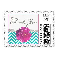@@@Karri Best price          Peony Chevron Wedding Thank You Stamp           Peony Chevron Wedding Thank You Stamp today price drop and special promotion. Get The best buyDiscount Deals          Peony Chevron Wedding Thank You Stamp lowest price Fast Shipping and save your money Now!!...Cleck Hot Deals >>> http://www.zazzle.com/peony_chevron_wedding_thank_you_stamp-172697009281710474?rf=238627982471231924&zbar=1&tc=terrest