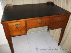 Mesa de Despacho Escritorio Clasico Mueble Muy Antiguo, 395 €