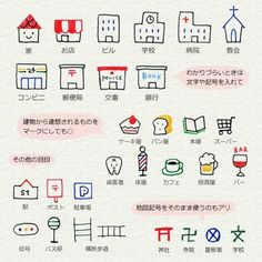 Simple drawing for kids Doodle Drawings, Easy Drawings, Doodle Art, Kawaii Drawings, Pen Doodles, Cute Doodles, Sketch Note, Japanese Drawings, Pen Illustration