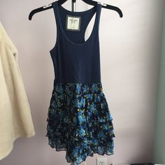 Abercrombie Dress Perfect condition, worn once for a special event.  It gives the look of a tank top & skirt.  You can dress it up or dress it down.  Perfect for many occasions!  Retails for $68. Abercrombie & Fitch Dresses Mini