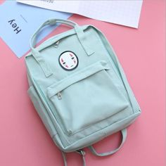 Kaonashi No-Face Spirit Backpack Korean Fashion Trends 49649e6a99204