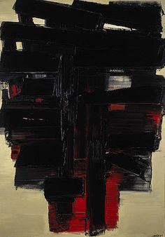 Peinture, 3 Novembre 1958 [Paintings, 3 November 1958], Pierre Soulages
