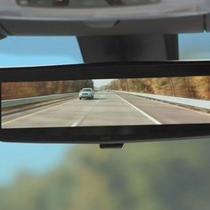 The mirror presents an exceptionally wide view. Using it is like the first time you see a wide screen high-def TV.