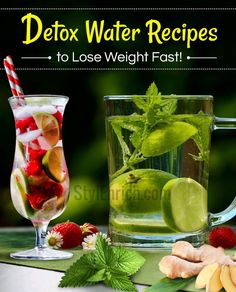 #DetoxWaterRecipes  Detox water helps in flushing out of toxins and the unnecessary fat from the body. Thus one of the benefits is losing body fat and h... - StylEnrich - Google+