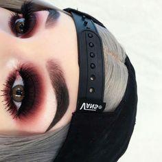 Grunge Glam - Make Up - Makeup Punk Makeup, Edgy Makeup, Gothic Makeup, Skin Makeup, Clown Makeup, Halloween Makeup, Grunge Eye Makeup, Makeup Style, Simple Makeup