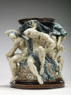 Auguste Rodin (1840 -1917) Pedestal of the Titans1878-1882