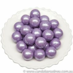 Light Purple Shimmer Gumballs