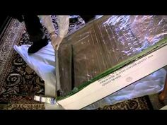 Solar Air Heater - Build Yourself - Quick Cheap Use old Box