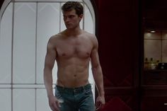 10. Christian Grey's own mom thought he was gay.