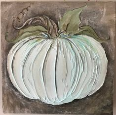Fall Pictures, Pictures To Paint, Autumn Painting, Pumpkin Painting, Farmhouse Paintings, Pumpkin Art, Painting Gallery, Wood Canvas, Painted Pumpkins