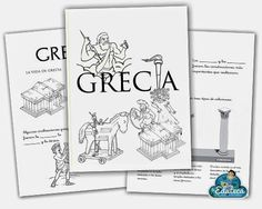 La Eduteca: RECURSOS PRIMARIA | Cuadernillo sobre Grecia