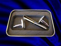 cufflinks & tie clip