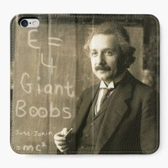 After years of research, Einstein was right, E does indeed equal...4 Giant Boobs