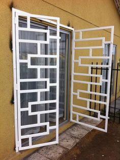 for patio doors Home Window Grill Design, Grill Gate Design, Window Grill Design Modern, Balcony Grill Design, Steel Gate Design, Front Gate Design, House Gate Design, Door Gate Design, Railing Design