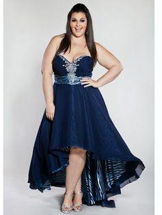 Vestidos de noche para gorditas ¡Lindas Opciones con Imágenes! | 101 Vestidos de Moda | 2017 - 2018