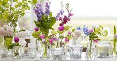 Purple Wedding Centerpieces | pink-white-purple-diy-centerpieces-budget-friendly-wedding-flowers ...