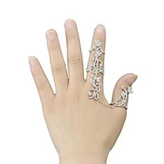 Susenstone Full Finger Knuckle Armor Ring Set Punk Rock Gothic Jewelry >>> More info could be found at the image url.(This is an Amazon affiliate link and I receive a commission for the sales)