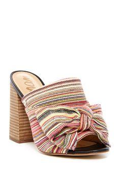 0afafa22e1a Multicolored Sam Edelman Yumi Open Toe Mules Sandals 2018