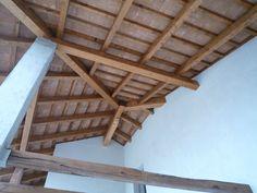 Struttura in legno e tavelle in cotto