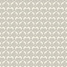 "Mod Damask (Linen) - modern damask design to print on fabric for DIY sewing and crafts. The Textile District prints fabric on demand on the ground fabric you choose. Each image represents 27"" square to show scale of the printed design. #fabrics #textiledistrict"