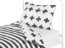 Iso Single 100% Cotton Bed Set, Mono