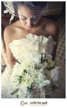 Birdcage Veil Styles for Vintage Brides