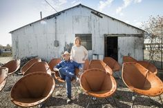 Garza Marfa is the husband and wife design team of Jamey Garza and Constance Holt-Garza. Jamey and Constance both have backgrounds in art, design and fabrication
