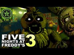 NIGHTS 3 & 4 - Five Nights at Freddy's 3 - Part 2 - YouTube (Lets Play)