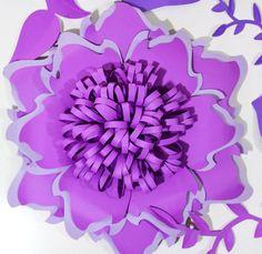 Sfondo fiore di carta per tutte le occasioni, eventi e matrimoni. (Scegli i tuoi colori) Questa composizione floreale elegante carta renderebbe un