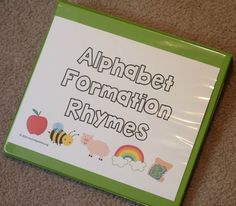 Alphabet poems poem and phonics alphabet formation rhymes to help little learners know how to write uppercase alphabet letters spiritdancerdesigns Image collections