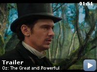 Oz: The Great and Powerful Trailer... I can't wait!!! Michelle Williams, Mila Kunis, James Franco!