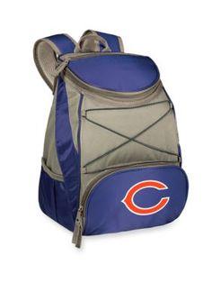 Navy Chicago Bears PTX Backpack Cooler