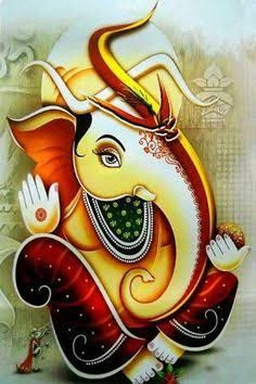 Image result for modern ganesh paintings