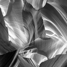 Image of Canyons in black and white Antelope Canyon, Black And White, Fabric, Color, Image, Textiles, Wall, Black White, Tejido
